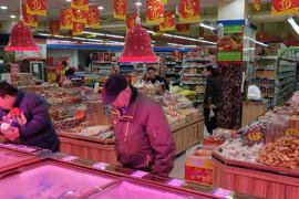 大型小区底商盈利超市转让