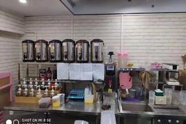 临街底商水吧奶茶店整体转让,证照齐全