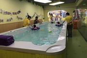 婴儿游泳水育馆转让会员稳定临街人流大小区环绕